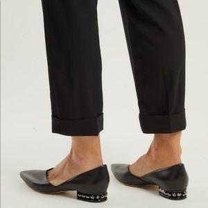 Nicholas Kirkwood Suzi flat heel Loafer pearl 7.5